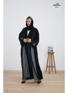 Royal abaya wrap very wide