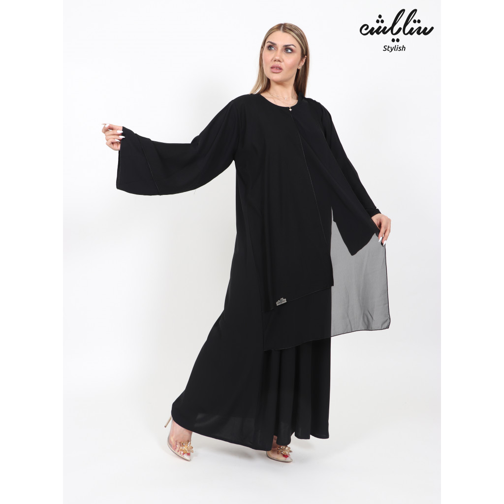 Abaya in black color