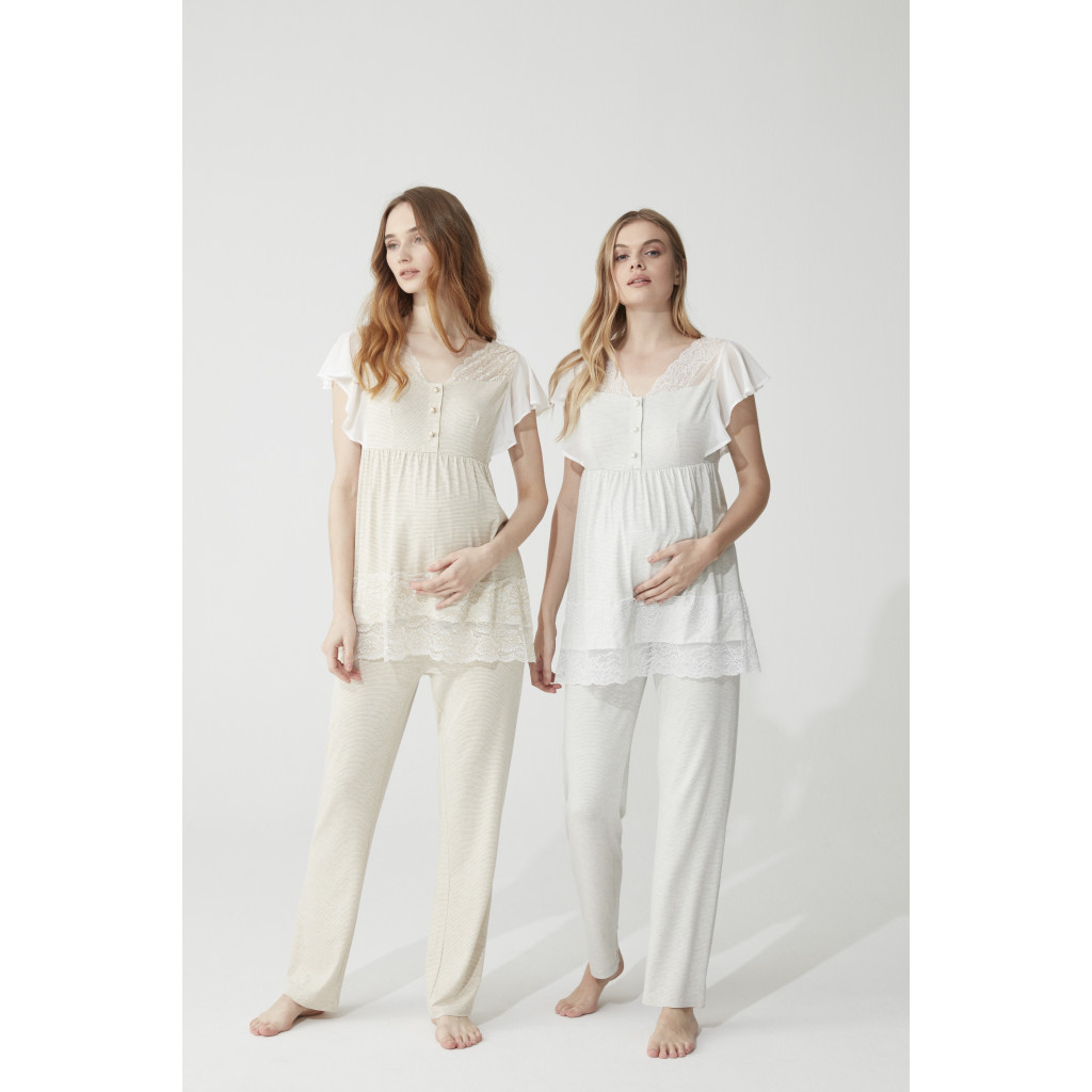 Set for pregnant women from two pieces of comfortable soft  fabric