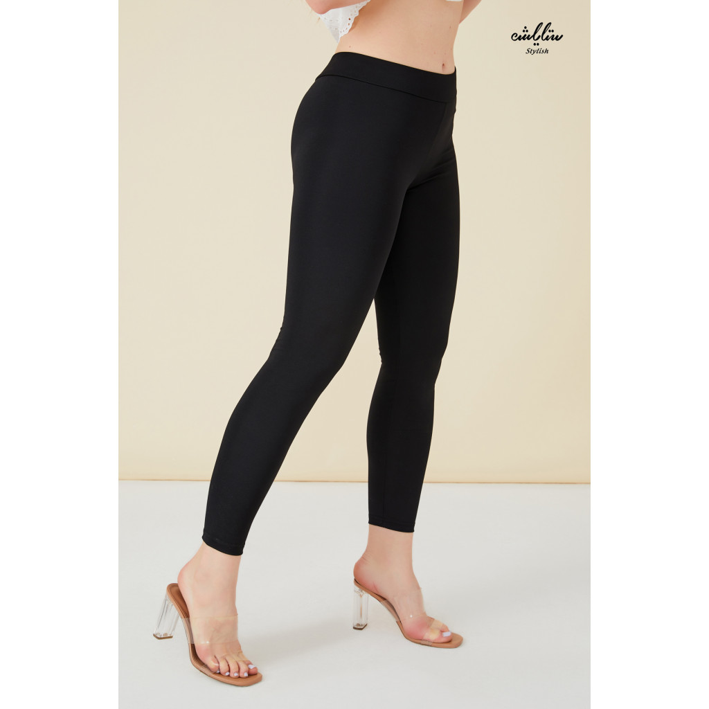 Elastic Black  leggings