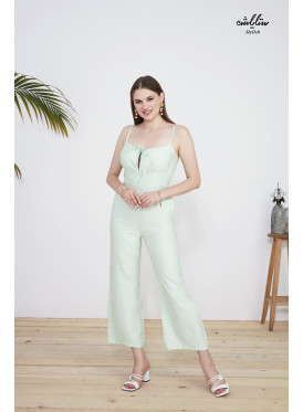 Pocket Detail cute Jumpsuit