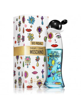 Cheap & Chic So Real Perfume by Moschino -EDT-woman-100ml