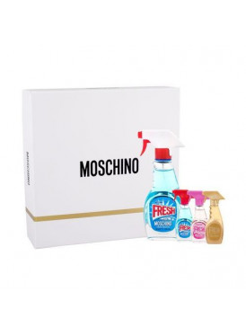 MOSCHINO Fresh Couture-unisex-Gift Set 4 x50ml