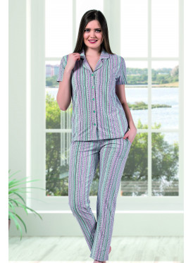 Striped Pajama Set adds a touch of style and comfort