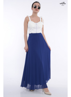 Elegant and attractive blue  skirt