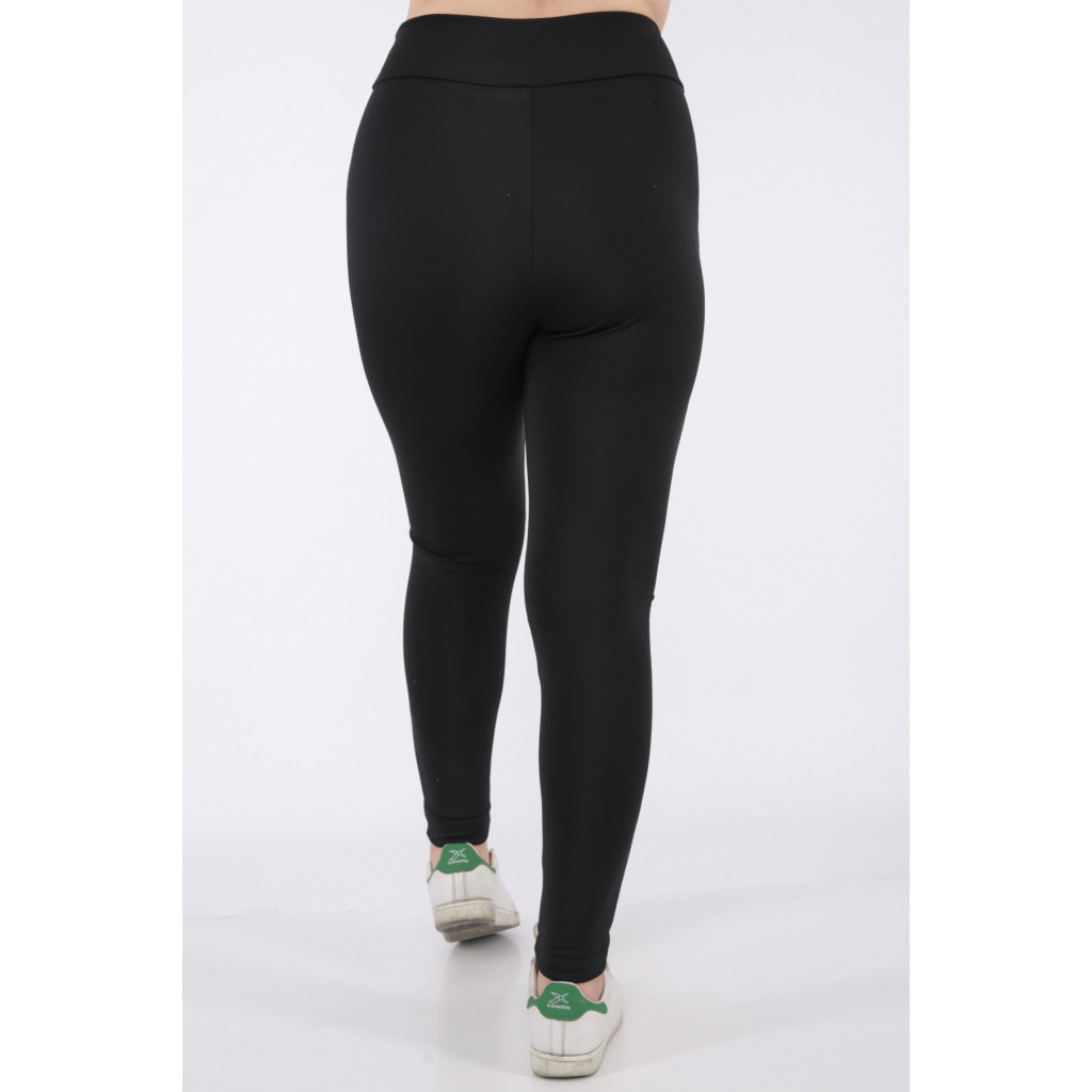 Black sporty Lkonz trousers with transparent side bar