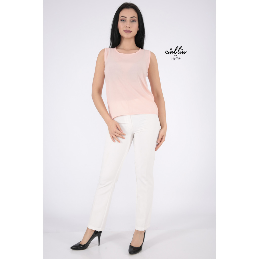 Pink top with soft design