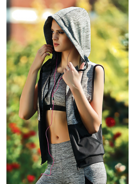 A stylish three-piece sporty set with a practical design and modern